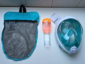 Decathlon Tribord Easybreath Schnorchelmaske_Set