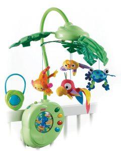 Mattel Fisher-Price K3799 Rainforest Mobile im Baby-Mobile Vergleich