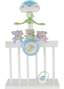 Mattel Fisher-Price - Mobile 3-in-1 Traumbärchen im Baby-Mobile Vergleich