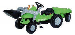 BIG 800056525 Jimmy-Loader Kindertraktor im Trettraktor Vergleich