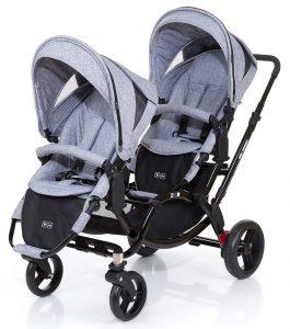 Zwillingskinderwagen hintereinander  Zwillingskinderwagen Vergleich - Die besten Geschwisterwagen