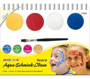 Snazaroo Aqua Schmink-ideen im Kinderschminke Vergleich