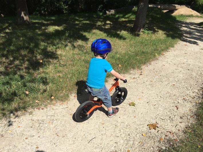 Rocky Bike Laufrad im Praxis-Test_Fahrt