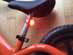 Rocky Bike Laufrad im Praxis-Test_Rücklicht