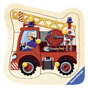 Ravensburger 03227 Feuerwehrauto im Holzpuzzle Vergleich