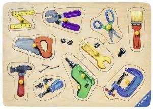 Ravensburger Meine Werkzeuge im Holzpuzzle Vergleich
