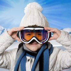 So schützen Skibrillen die Augen Ihrer Kinder