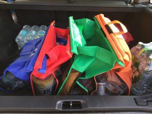 Trolley Bags im Praxis-Test im Kofferraum
