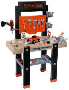 Smoby 360701 Black + Decker Werkbank Center im Kinder-Werkbank Vergleich