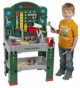 Theo Klein 8580 Bosch Workstation im Kinder-Werkbank Vergleich