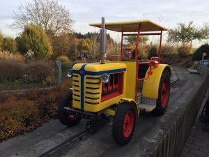Traktorbahn im Schwabenpark
