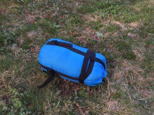 Grüezi Bag Biopod Wolle Kids määäh_Packsack-Komprimierung