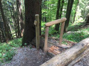 Blomberg zum Zwieselberg_Holzfernrohr Tölzer Entdeckungspfad