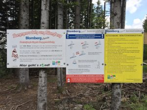 Blomberg zum Zwieselberg_Infos Sommerrodelbahn