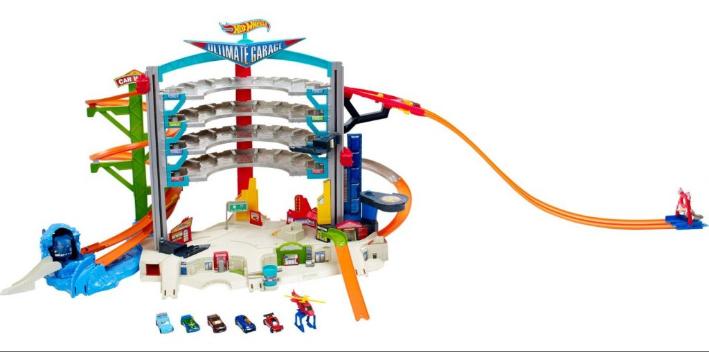 Mattel Hot Wheels CMP80 Megacity Parkgarage im Spielzeug-Parkhaus Vergleich