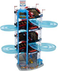 Theo Klein 2813 Bosch Car Service Parkhaus im Spielzeug-Parkhaus Vergleich