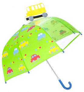 Rainbrace Kinderschirm mit Sichtfenster im Kinder-Regenschirm Vergleich