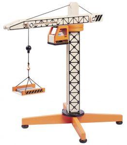 Howa großer Turmdrehkran aus Holz im Spielzeug-Kran Vergleich