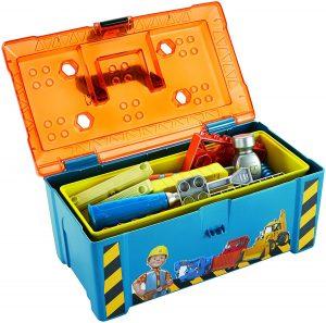 Mattel Fisher-Price Bob der Baumeister 2-in-1 Werkzeugkasten im Kinder-Werkzeug Vergleich