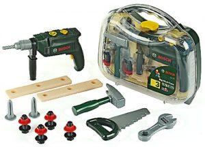 Theo Klein 8416 Bosch Werkzeugkoffer im Kinder-Werkzeug Vergleich