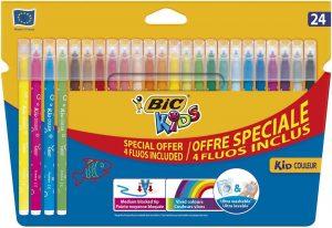 BIC Kids 921360 Fasermaler Kid Couleur Medium im Filzstifte Vergleich