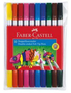 Faber-Castell 151110 Doppelfasermaler10er Etui im Filzstifte Vergleich