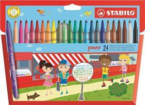 Filzstift STABILO power 24er Pack im Filzstifte Vergleich