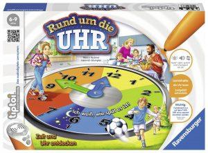 Die Uhrzeit lernen - Ravensburger 00736 - tiptoi Lernspiel Rund um die Uhr