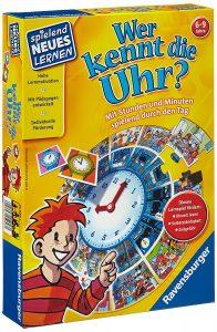 Die Uhrzeit lernen - Ravensburger 25056 Wer kennt die Uhr?