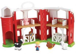 Mattel Fisher-Price CHJ51 Little People Tierfreunde Bauernhof im Spielzeug-Bauernhof Vergleich