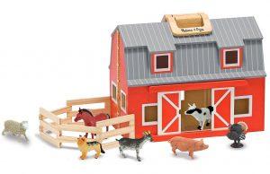 Melissa & Doug Fold & Go Grange Bauernhof im Spielzeug-Bauernhof Vergleich