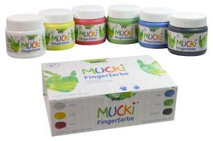 Mucki 2316 Fingerfarben 6er Set im Fingerfarben-Vergleich