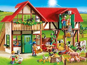 PLAYMOBIL 6120 Großer Bauernhof im Spielzeug-Bauernhof Vergleich