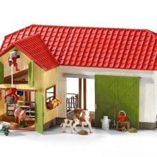 Spielzeug-Bauernhof Vergleich – Spielfarmen aus Holz und Kunststoff