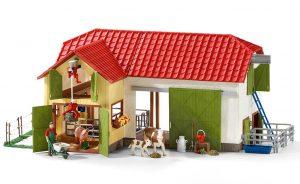 Schleich Großer Bauernhof im Spielzeug-Bauernhof Vergleich