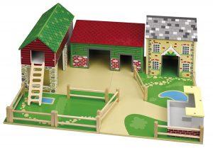 Tidlo T-0096 Bauernhof mit Grundstück im Spielzeug-Bauernhof Vergleich