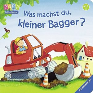 Was machst du, kleiner Bagger? - Einschafbücher für Kinder