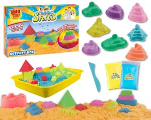 Craze Magic Sand Activity-Box im Kinetic Sand Vergleich