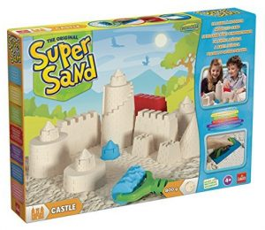 Goliath Super-Sand-Set Castle im Kinetic Sand Vergleich
