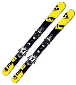 Ski Fischer Stunner SLR JR Freeski-Rocker im Kinderski-Vergleich