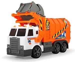 Dickie Toys 203308369 Action Serie Garbage Truck im Spielzeug-Müllauto Vergleich