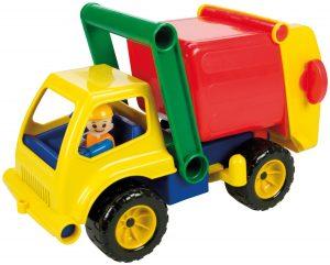 Lena 04356 Aktive Müllwagen ca. 30 cm mit Spielfigur im Spielzeug-Müllauto Vergleich