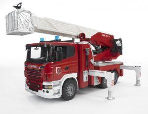 Bruder 03590 SCANIA R-Serie Feuerwehrleiterwagen im Spielzeug-Feuerwehrauto Vergleich