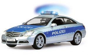 Jamara 403705 Mercedes E350 Coupe Polizei im Spielzeug-Polizeiauto Vergleich
