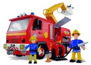 Simba Feuerwehrmann Sam Jupiter im Spielzeug-Feuerwehrauto Vergleich