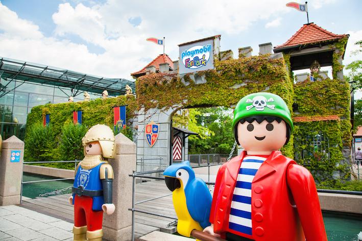 Eingang im Playmobil FunPark
