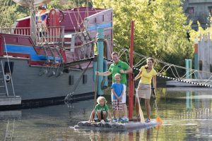 Floßfahrt im PLAYMOBIL-FunPark