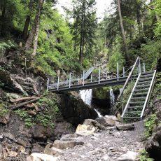 Über den Tobelweg zur Gaisalpe – Abenteuer pur für kleine Wanderer!