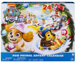Paw Patrol Spielzeug-Adventskalender
