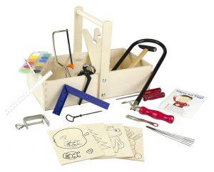 Pebaro 432S Holzschreinerkiste mit Farbkasten im Laubsäge-Set Vergleich